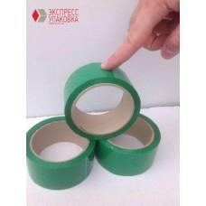 Скотч-пленка зеленая, 66 м х 48 мм