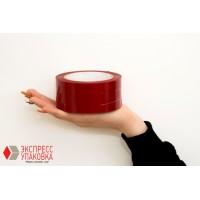 Скотч-пленка красная, 100 м х 48 мм