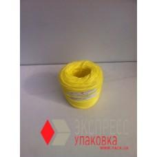 Шпагат полипропиленовый 200 м (1.0 кТекс, 0.2 кг в бобине), желтый