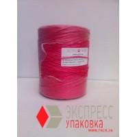 Шпагат полипропиленовый 1.0 кТекс (600 м, 0.6 кг в бобине), красный
