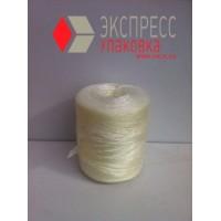 Шпагат полипропиленовый 1.0 кТекс (900 м, 0.9 кг в бобине), белый