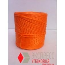 Шпагат полипропиленовый 6.0 кТекс (250 м, 0.312 кг в бобине), оранжевый