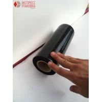Стрейч-пленка черная, 1.2 кг, 20 мкм (ширина - 25 см)