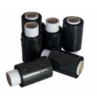 Стрейч-пленка черная, 200 м х 10 см, 20 мкм