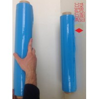 Стрейч-пленка синяя, 300 м х 50 см, 20 мкм