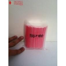 Пакеты с замком Zip-Lock 100 мм х 100 мм в упаковке (100 шт)