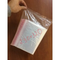 Пакеты с замком Zip-Lock 230 мм х 320 мм в упаковке (100 шт)