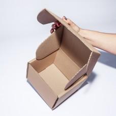 Коробка картонная 150 х 150 х 120 мм, самосборная