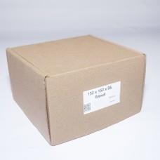 Коробка картонная 150 х 150 х 95 мм, самосборная