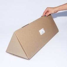 Коробка картонная 180 х 180 х 470 мм, самосборная