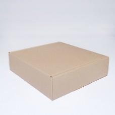 Коробка картонная 180 х 180 х 50 мм, самосборная