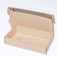 Коробка картонная 185 х 110 х 37 мм, самосборная