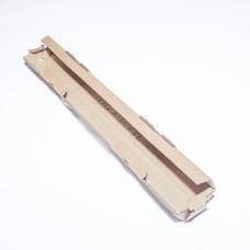 Коробка картонная 20 х 20 х 320 мм, самосборная