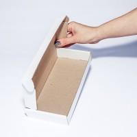 Коробка картонная 210 х 105 х 30 мм, самосборная