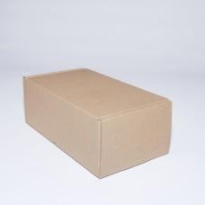 Коробка картонная 210 х 120 х 80 мм, самосборная