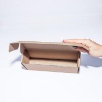 Коробка картонная 220 х 60 х 100 мм, самосборная