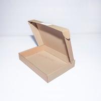 Коробка картонная 250 х 180 х 20 мм, самосборная