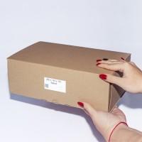 Коробка картонная 280 х 190 х 100 мм, самосборная