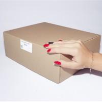 Коробка картонная 290 х 230 х 100 мм, самосборная