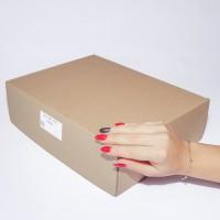 Коробка картонная 300 х 240 х 90 мм, самосборная