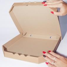 Коробка картонная 300 х 300 х 35 мм, под пиццу