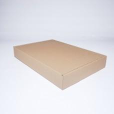 Коробка картонная 340 х 240 х 50 мм, самосборная
