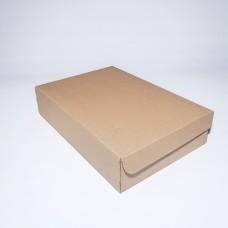 Коробка картонная 380 х 260 х 85 мм, самосборная