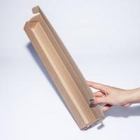 Коробка картонная 430 х 70 х 70 мм, самосборная