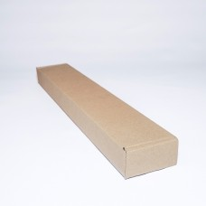Коробка картонная 430 х 70 х 35 мм, самосборная