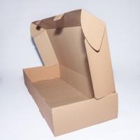 Коробка картонная 615 х 555 х 80 мм, самосборная