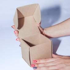 Коробка картонная 80 х 80 х 80 мм, самосборная