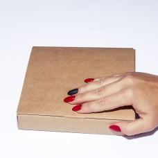 Коробка подарочная 170 х 170 х 30 мм, самосборная, 350 гр/м2