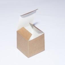 Коробка подарочная 55 х 55 х 55 мм, самосборная