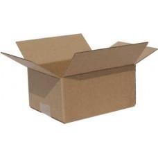 Коробка картонная четырехклапанная