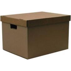 Коробка картонная с крышкой