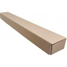 Коробка картонная 1030 х 125 х 75 мм, самосборный тубус