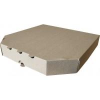 Коробка картонная 260 х 260 х 35 мм, под пиццу