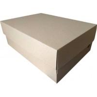 Коробка картонная 350 х 250 х 130 мм, самосборная