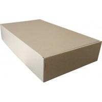 Коробка картонная 400 х 240 х 80 мм, самосборная