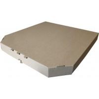 Коробка картонная 400 х 400 х 35 мм, под пиццу