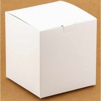 Коробка подарочная 100 х 100 х 100 мм, самосборная