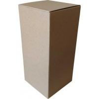 Коробка картонная 100 х 100 х 220 мм, самосборная