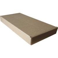 Коробка картонная 240 х 120 х 25 мм, самосборная