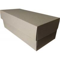 Коробка картонная 320 х 140 х 110 мм, самосборная