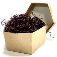 Наполнитель для коробок 100 г, древесный фиолетовый