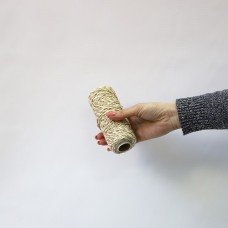 Шнур декоративный 50 м (2.8 кТекс), джут + хлопок