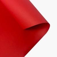 Дизайнерская крафт-бумага 940 х 700 мм, 80 гр/м2, красная
