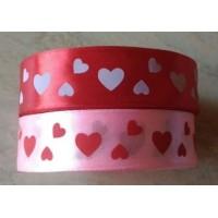 Лента декоративная «Сердце» 25 мм, атласная