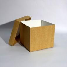 Коробка подарочная 150 х 150 х 130 мм, крышка+дно