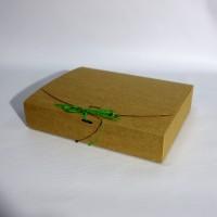 Коробка подарочная 195 х 130 х 50 мм, самосборная